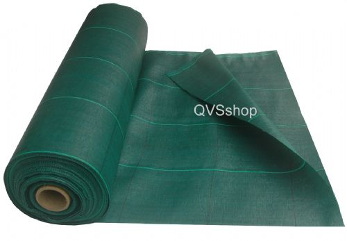 Extra Heavy Duty Weed Control Fabric - Green 125gsm Various Sizes